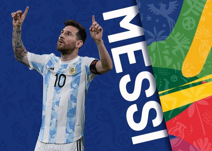 MESSI seleccion argentina copa america 2021