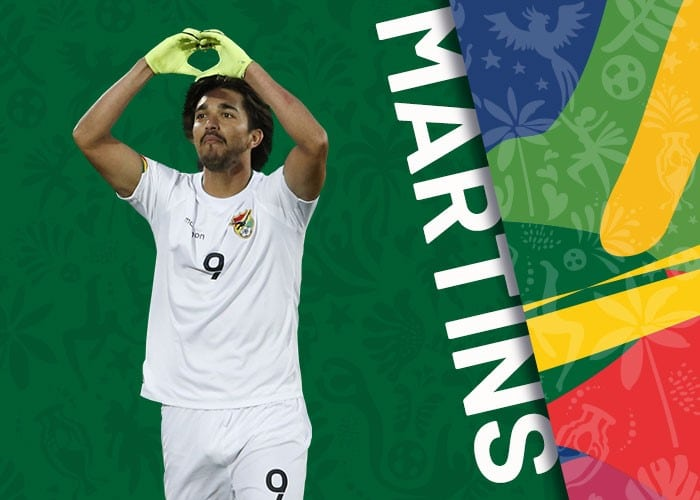 Martins Bolivia copa america 2021