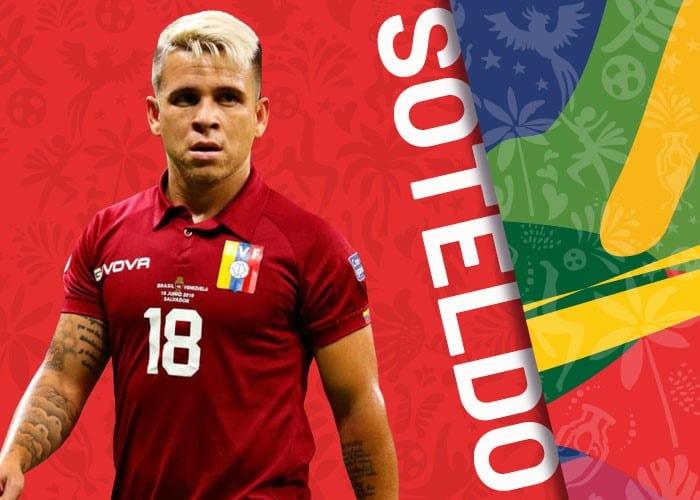 Soteldo Venezuela copa america 2021